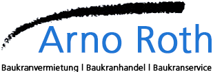 Baukrane Arno Roth Logo