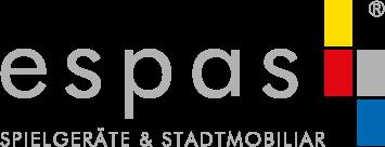 espas Spielgeräte & Stadtmobiliar Logo