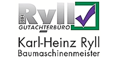 Karl-Heinz Ryll Baumaschinenmeister Gutachterbüro Logo