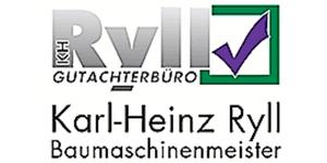 Karl-Heinz Ryll Baumaschinenmeister Gutachterbüro Logo