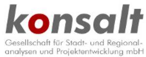 konsalt - Gesellschaft für Stadt- und Regionalanalysen u. Projektentwicklung mbH Logo