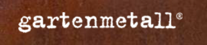 Gartenobjekte aus Metall Logo