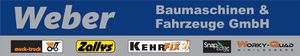 Weber Baumaschinen und Fahrzeuge GmbH (Muck-Truck) Logo